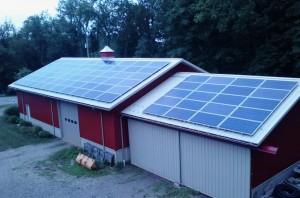Solar Array in Dunbar PA