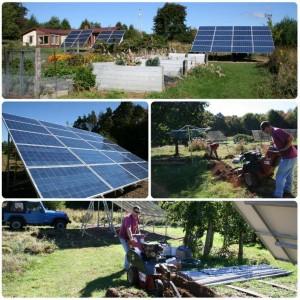 Solar Array Construction
